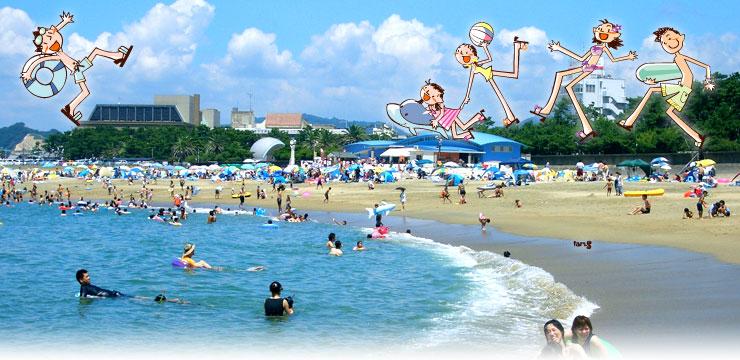 田辺扇ヶ浜海水浴場が海開き♪